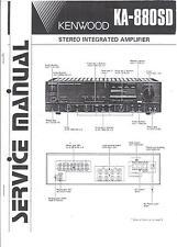 Kenwood  Service Manual für KA-880 SD