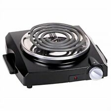 Durable Single Cast Iron Hot Plate Electric Burner Stove Cooker Food Cooking