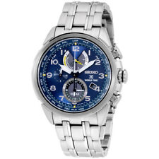 Movimiento Seiko Prospex Solar Esfera Azul para Hombre Reloj SSC507 ** ** Caja Abierta