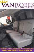 Citroen Dispatch (2016 on). Tailored Seat Covers & Tailored  Rubber Floor Mat