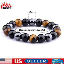 Magnetic Therapy Bracelet  Men Women health care Magnetic Energy Tiger Eye Stone