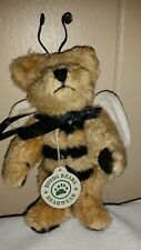 "Boyds Collection 1990 - 1998 Bud Buzzby a 6"" Jointed Bumblebee Bear Retired"