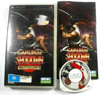 Samurai Shodown Anthology Sony PSP