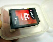 EMTEC 8 GB SD HC memory Card - (EKMSD8G150XHC) class 4
