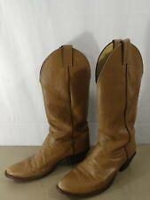 Justin J 7019 Roper Womens Western Cowboy Boots Brown 7.5 B Hiking Work Outdoor