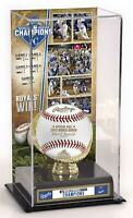 KC Royals 2015 MLB WS Champs Gold Glove Display Case with Image - Fanatics