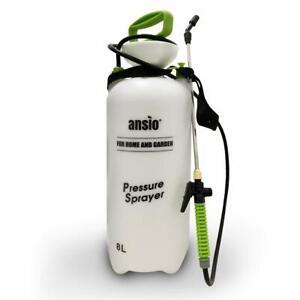 Garden Sprayer 8 litre Pressure Sprayer Pump -Sprayer with Stainless Steel Lance