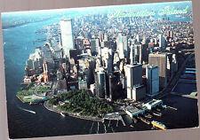 Vintage Postcard, USA,  Manhattan Island, New York, pm 1994