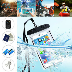 For iPhone Universal Fluorescent Underwater Waterproof Case Pouch Dry Bag Summer