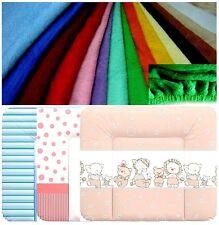 Frotteebezug für Wickeltischauflage 75x85 Bezug für Wickelauflage viele Farben