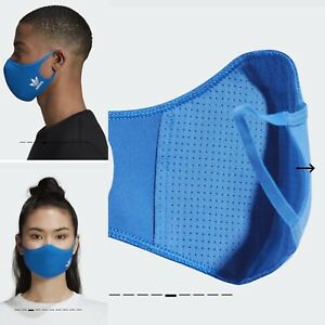 adidas Face Cover M/L In Blue Pack Of 3