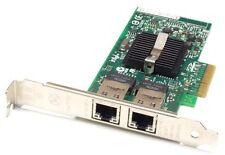 -DELL X3959 INTEL Pro/1000 PT Dual Port GIGABIT NIC PCI-E CARD D33682 C57721-005