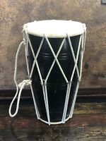 """30882 Vintage Percussion Hand Bongo Drum 18"""" ~ from a 1960s Estate"""