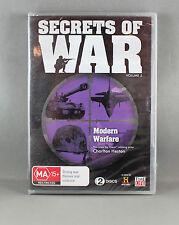 SECRETS OF WAR - MODERN WARFARE (DVD, 2011, 2-Disc Set -Vol 5) BRAND NEW/SEALED