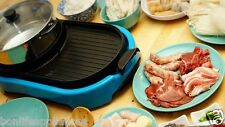 2 in 1 Electric BBQ Grill and Steamboat Hotpot