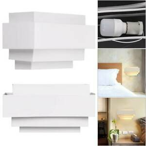 Modern LED Wall Lights Sconce Indoor Bedroom Home Up Down Light Lamp Warm White
