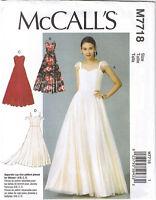Princess Seam Sweetheart Neck Dress Wedding Formal Sewing Pattern 6 8 10 12 14