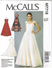 Princess Seam Sweetheart Neck Dress Wedding Formal Sewing Pattern 14 16 18 20 22