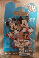 PIN 21.1KM I DID IT EL 2000 ex Semi Marathon / Run 2017 Disneyland Paris