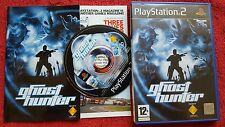 GHOST HUNTER ORIGINAL BLACK LABEL SONY PLAYSTATION 2 PS2 PAL
