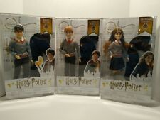 Lot of(3)Harry Potter dolls Harry Potter, Hermione Granger and Ron Weasley
