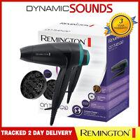 Remington D1500 Compact Travel Hair Dryer, Diffuser, Folding Handle - 2000W