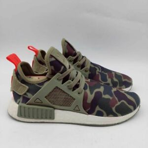 Adidas NMD XR1- Mens- Size 10.5- Olive Cargo- Green- [BA7232]- Running Shoes