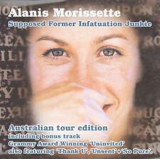 Supposed Former Infatuation Junkie [Australia Tour Edition] by Alanis Morissette (CD, Oct-1999, Maverick)