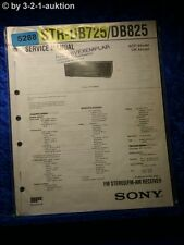 Sony Service Manual STR DE725 /DE825 FM/AM Receiver (#5288)
