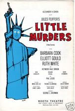 "Rare Flyer ""Little Murders"" Barbara Cook 1967 Broadway"