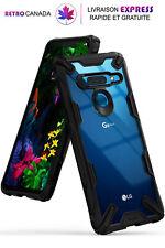 Coque, étui  pour LG G8 ThinQ Ergonomique avec Protection de choc en TPU [Noir]