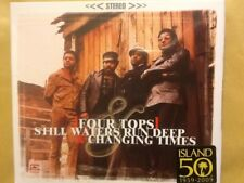 FOUR. TOPS.     COMPACT DISC.          STILL WATERS RUN DEEP/ CHANGING. TIMES