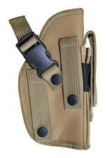 MOLLE Desert Tan Ambidextrous Gun Holster BB Airsolf Pistol Hand Tactical 307T