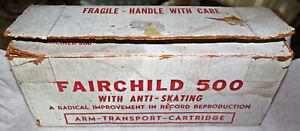 Vintage Fairchild 500 Tonearm & SM2 Cartridge in Box