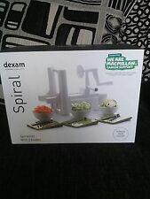 """dexam """"spiralizer"""" spiral vegetable,fruit cutter"""
