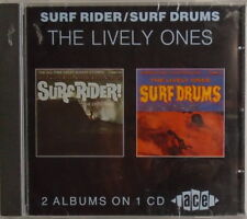 LIVELY ONES - CD - Surf Rider - Surf Drums - BRAND NEW