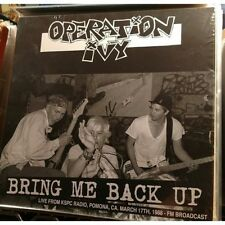 Operation Ivy ‎– Bring Me Back Up Live from KSPC Radio,Pomona,CA March 17th,1988