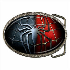 NEW* HOT SPIDERMAN Quality Chrome Belt Buckle Gift