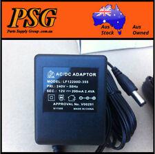 Ac/Dc Adaptor plug pack output 12vdc@200mA