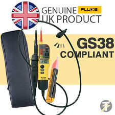 Fluke T130 Voltage & Continuity Tester KIT1W with 1AC Voltstick and LDMC1 Case