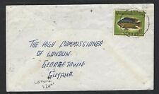GUYANA  (PP1605B)   FISH 6C    LEONORA    TO GEORGETOWN