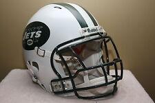 Custom Riddell Revolution GAME STYLE Football Helmet NEW YORK JETS Not Used Worn
