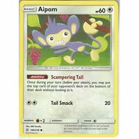 169/236 Aipom   Common Card   SM12 Cosmic Eclipse Pokemon Trading Card Game TCG