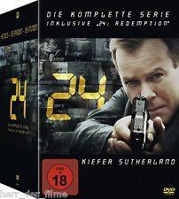 24 - Die komplette Serie (inkl. 24: Redemption) 49 DVDs NEU+OVP