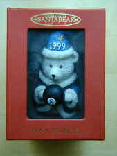 Hudson Santa Bear Wizard Ornament (Dayton Hudsons, 1999) New