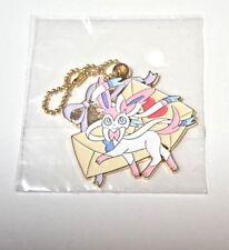 Pokemon ichiban kuji Sylveon-ninfia prize key chain metal strap 💛kawaii💛