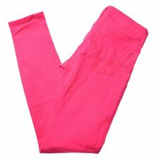 HOLLISTER Womens Jeans W24 L30 Pink Cotton Skinny  BC10