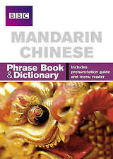 Mandarin Chinese Phrase Book & Dictionary: Includes Pronunciation-ExLibrary