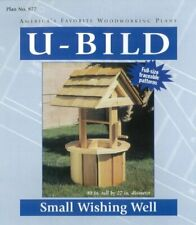 New U-Bild 877 Small Wishing Well Project Plan Free2Dayship Taxfree