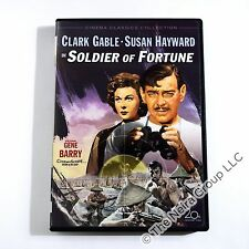 Soldier of Fortune DVD New Clark Gable Susan Hayward Gene Barry